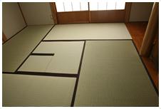 飯田畳店 茶室畳施工例